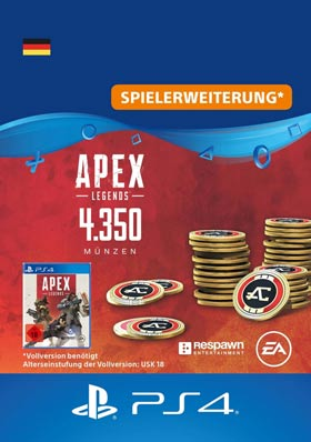 Apex Legends™ – 4.350 Apex-Münzen