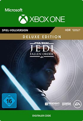 STAR WARS Jedi Fallen Order: Deluxe Edition - Xbox One Code