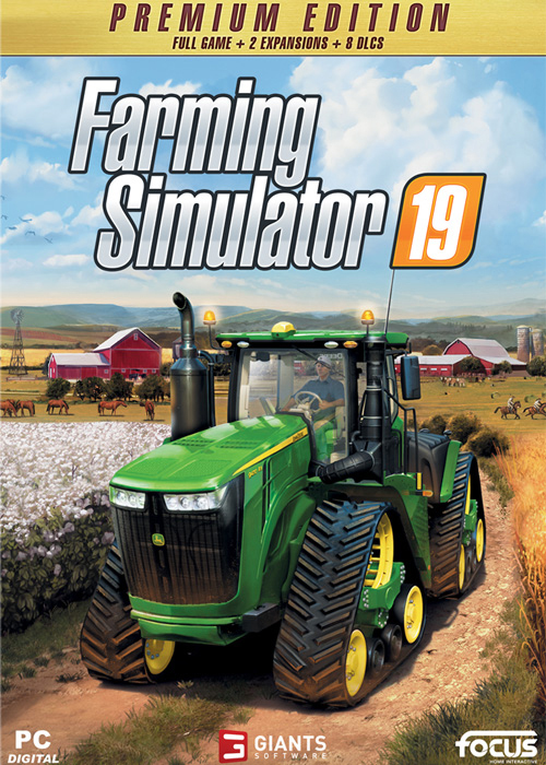 Landwirtschafts-Simulator 19 - Premium Edition (Steam)