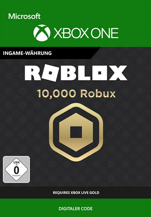 ROBLOX: 10,000 Robux - Xbox One Code