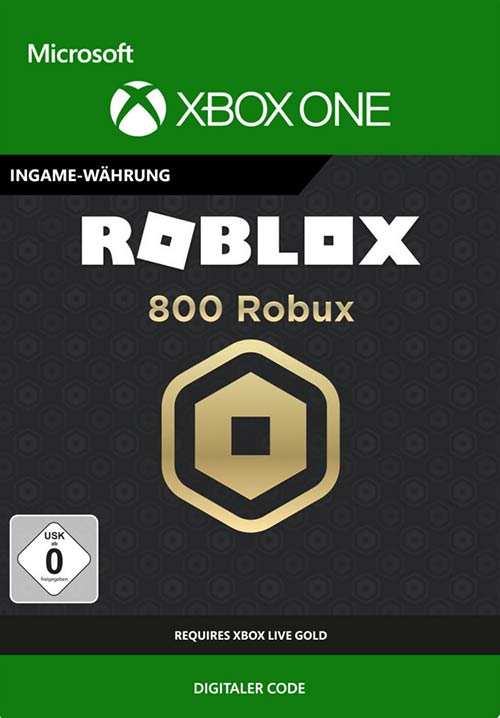 ROBLOX: 800 Robux - Xbox One Code