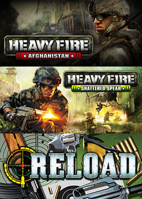 Heavy Fire + Reload Triple Pack