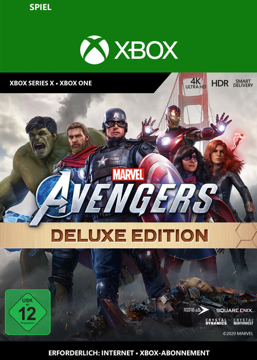 Marvel's Avengers: Deluxe Edition - Xbox Code
