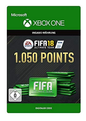 FIFA 18: Ultimate Team FIFA Points 1050 - Xbox