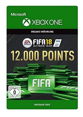 FIFA 18: Ultimate Team FIFA Points 12000 - Xbox