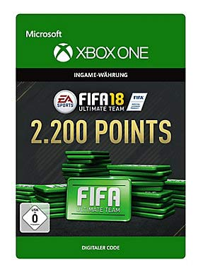 FIFA 18: Ultimate Team FIFA Points 2200 - Xbox