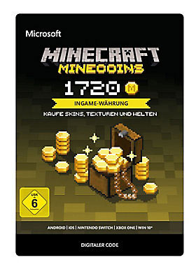 Minecraft: Minecoins Pack 1720 Coins - Xbox One Code