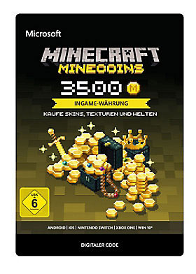 Minecraft: Minecoins Pack 3500 Coins - Xbox One Code