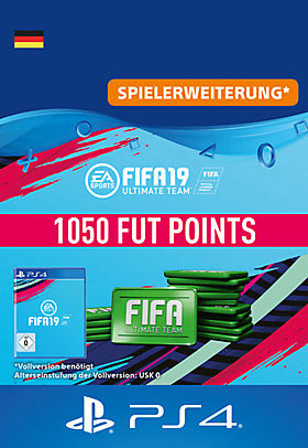 FIFA 19 Ultimate Team - 1050 Points - Playstation