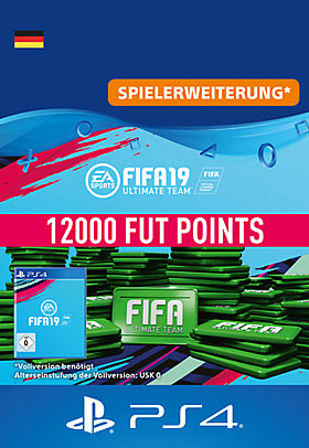 FIFA 19 Ultimate Team - 12000 Points - Playstation