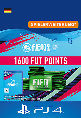 FIFA 19 Ultimate Team - 1600 Points - Playstation