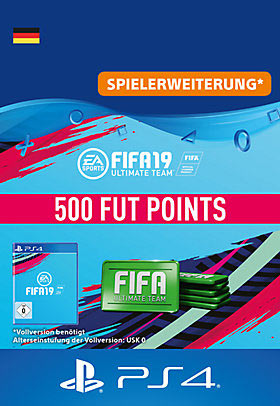 FIFA 19 Ultimate Team - 500 Points - Playstation