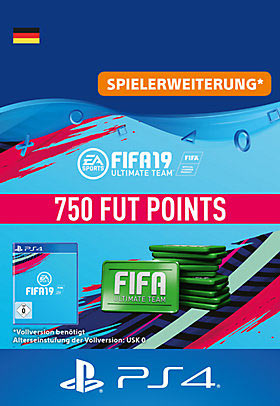 FIFA 19 Ultimate Team - 750 Points - Playstation