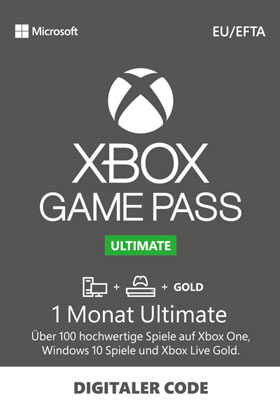 Xbox Game Pass Ultimate 1 Month EUR