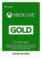 Xbox Live Gold - Mitgliedschaft 12 Monate (Xbox Live Online Code)