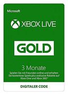 Xbox Live Gold - Mitgliedschaft 3 Monate (Xbox Live Online Code)
