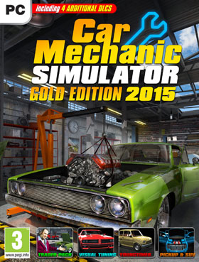 Car Mechanic Simulator 2015 - Gold Edition