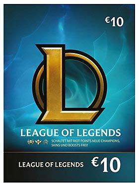 League of Legends - Guthaben 10 EUR