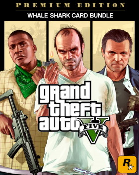 Grand Theft Auto V: Premium Edition & Whale Shark Card Bundle
