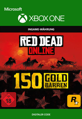 Red Dead Redemption 2: 150 Gold Bars - Xbox