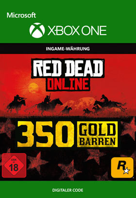 Red Dead Redemption 2: 350 Gold Bars - Xbox One Code
