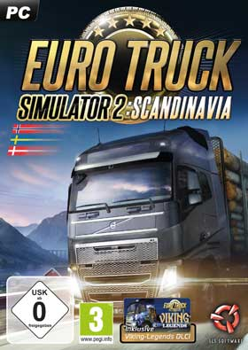 Euro Truck Simulator 2 Scandinavia (Add-On)