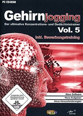 Gehirnjogging Vol. 5 inkl. Bewerbungstraining