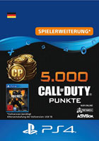 5.000 Call of Duty®: Black Ops 4-Punkte - Playstation