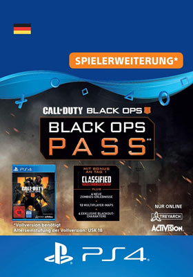 Call of Duty®: Black Ops 4 - Black Ops Pass - Playstation