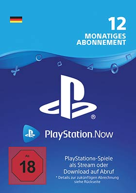 Playstation Now 12 Months
