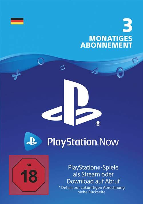 Playstation Now 3 Monate