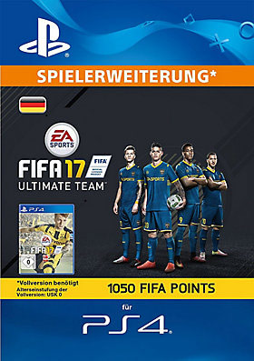 1.050 FIFA 17 Points-Set - Playstation