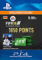 FIFA 18 Ultimate Team 1050 Points - PlayStation