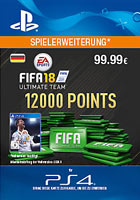 FIFA 18 Ultimate Team 12000 Points - PlayStation