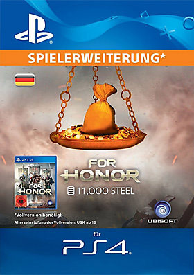 FOR HONOR™ 11000 STAHL-Paket - Playstation