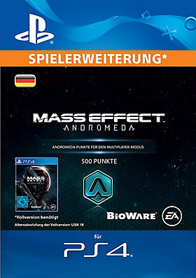 500 Mass Effect™: Andromeda Points - Playstation