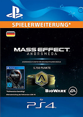 5.750 Mass Effect™: Andromeda Points - Playstation
