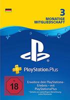 PlayStation®Plus: Mitgliedschaft für 3 Monate