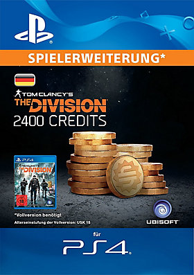 Tom Clancys The Division™ 2400-Premium-Credits-Paket - Playstation