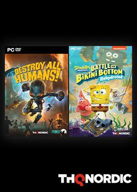 SpongeBob SquarePants: Battle for Bikini Bottom - Rehydrated / Destroy All Humans! Bundle
