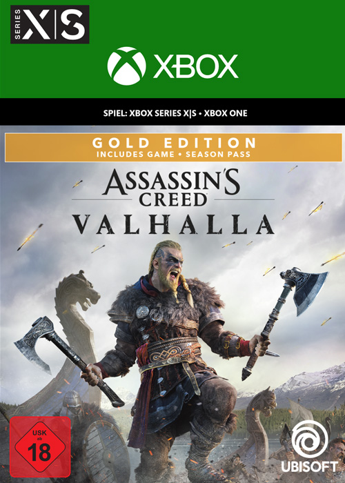 Assassin's Creed Valhalla Gold Edition - Xbox Code