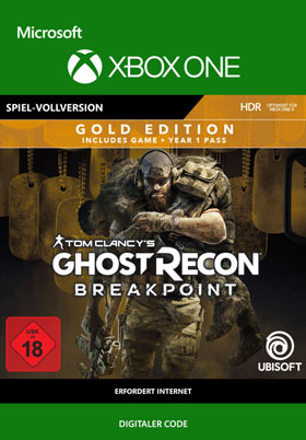 Tom Clancy's Ghost Recon Breakpoint Gold Edition - Xbox One Code