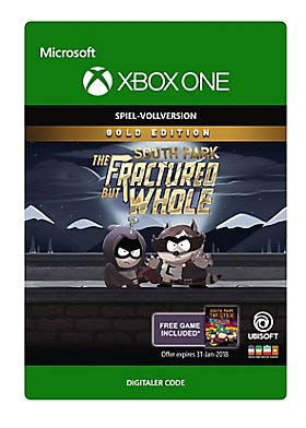 South Park: Fractured But Whole: Gold Edition - Xbox One Code