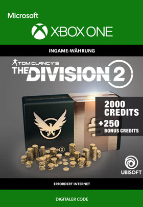 Tom Clancy's The Division 2: 2250 Premium Credits Pack  - Xbox One Code