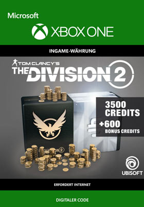 Tom Clancy's The Division 2: 4100 Premium Credits Pack - Xbox