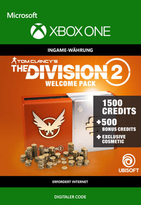 Tom Clancy's The Division 2: Welcome Pack - Xbox One Code