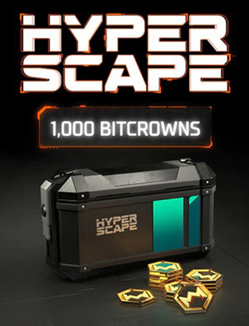 Hyper Scape Virtual Currency: 1000 Bitcrowns Pack