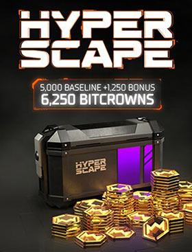 Hyper Scape Virtual Currency: 6250 Bitcrowns Pack