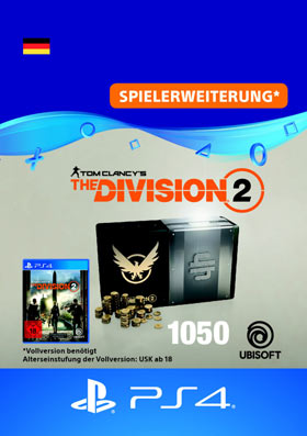 Tom Clancy's The Division 2: 1050 Premium Credits Pack - Playstation