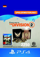 Tom Clancy's The Division 2: 2250 Premium Credits Pack - Playstation